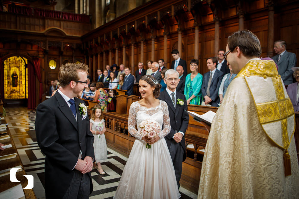 Hertford College Chapel wedding photography