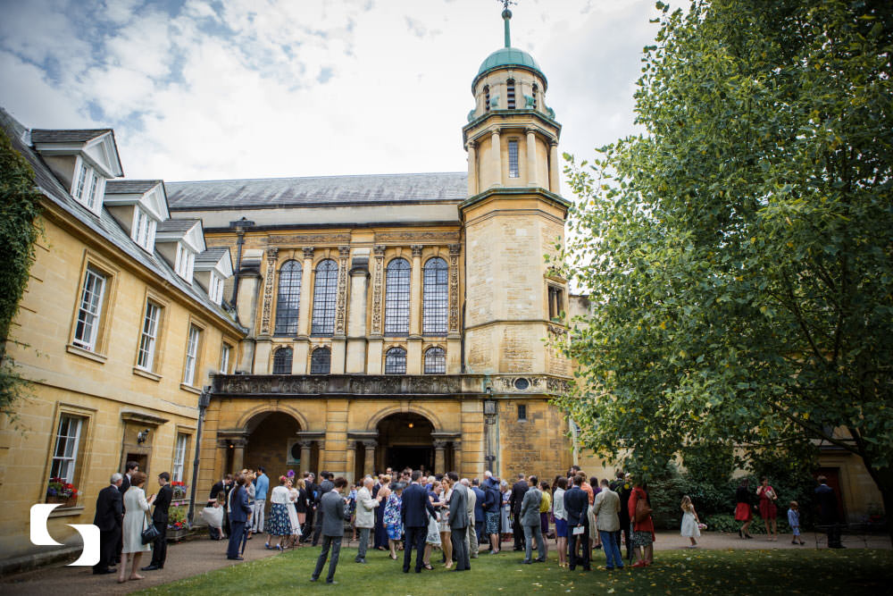 Hertford College Chapel wedding