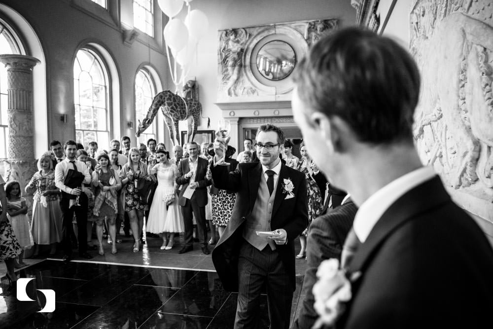 Wedding photography Aynhoe Park