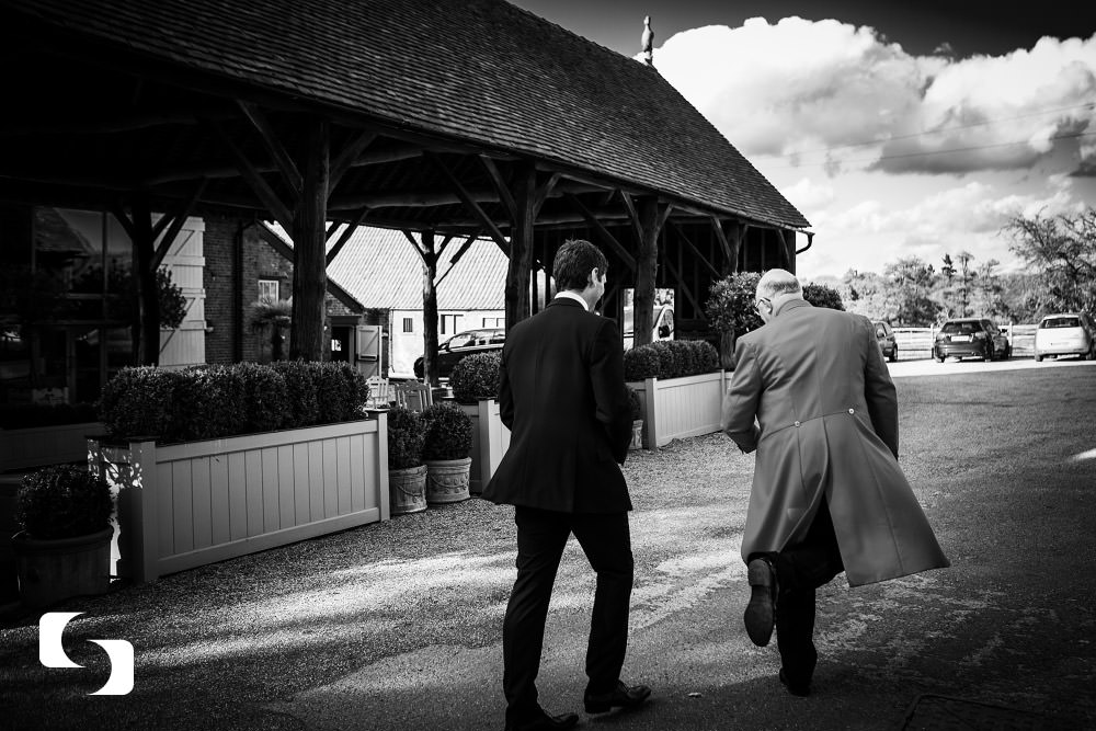 documentary wedding photography Gaynes Park