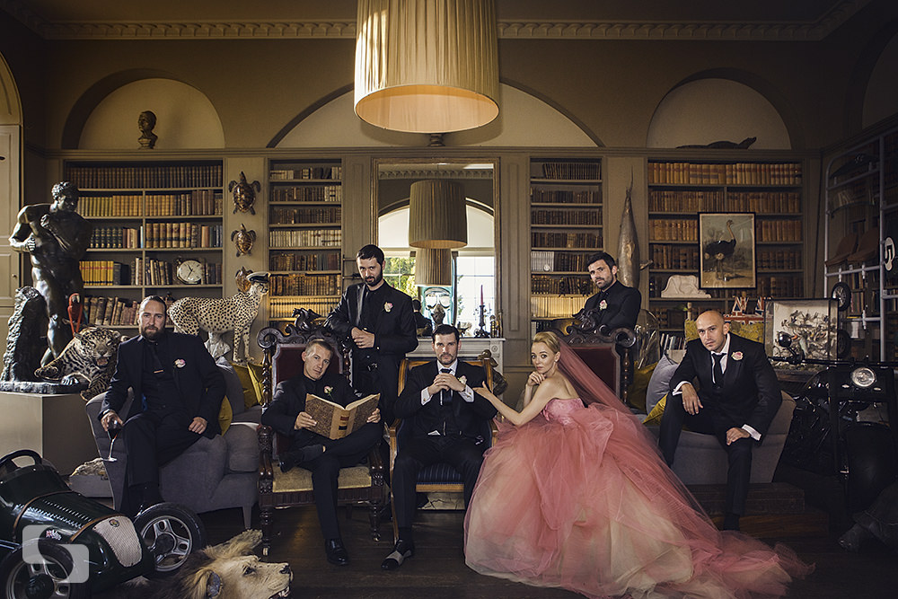 Just one. Aynhoe Park wedding pictures.