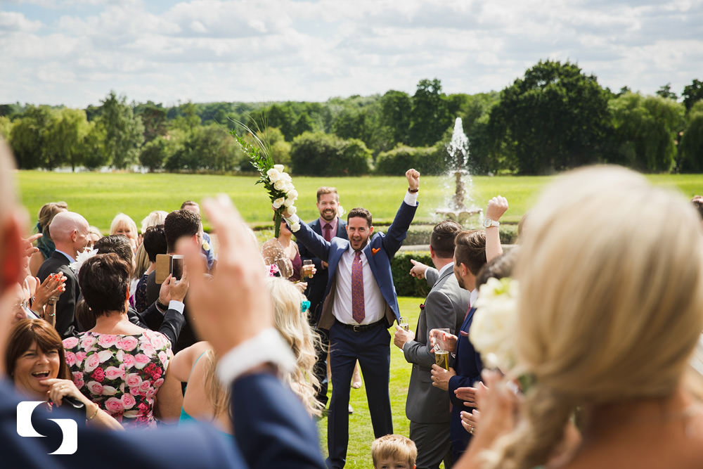 Gosfield Hall gay wedding