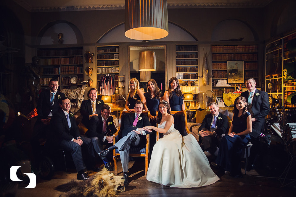 aynhoe park wedding images