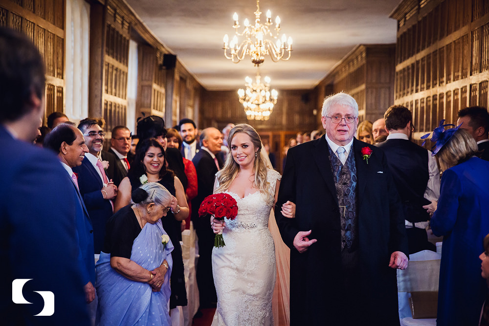 Gosfield Hall Christmas wedding photos