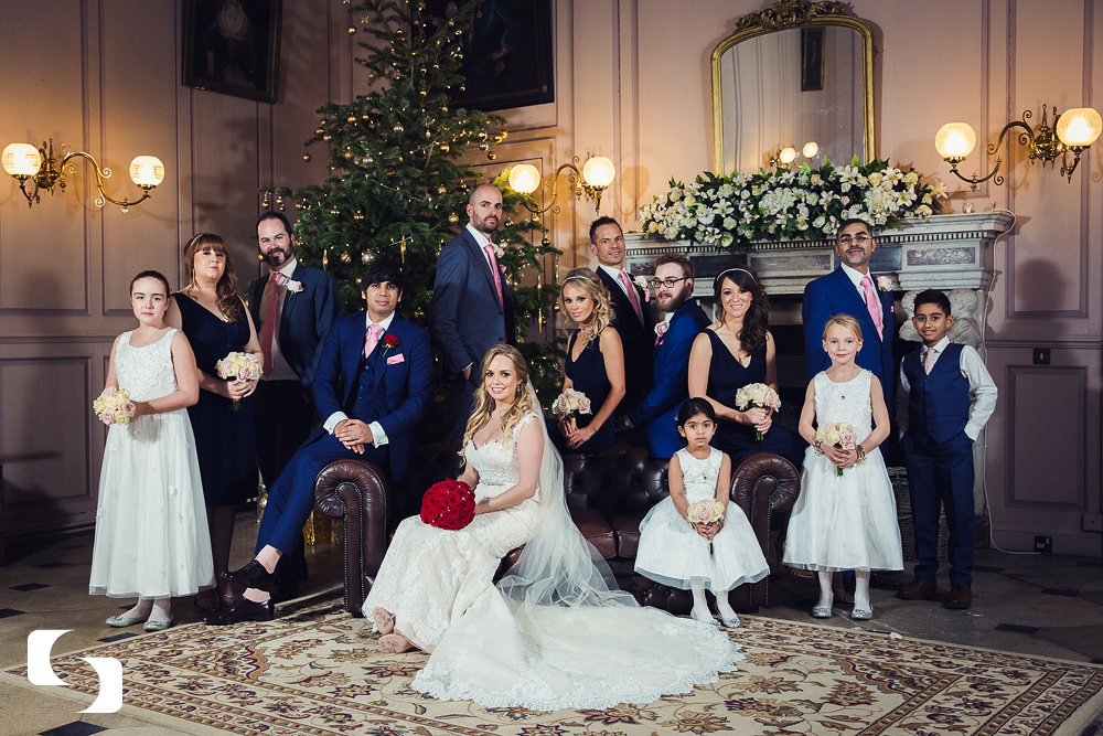 Gosfield Hall Christmas photography