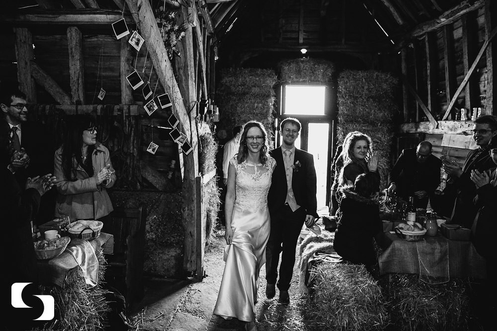 Essex barn wedding photography