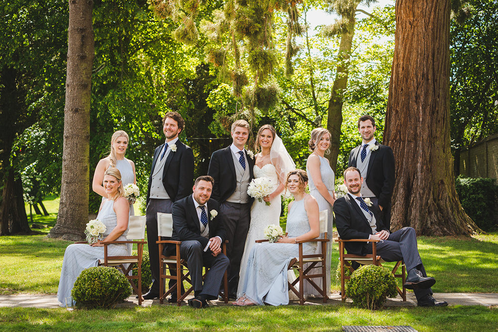 essex wedding photographer with stunning groups